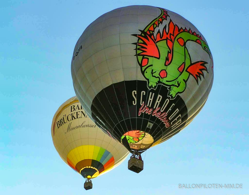 Heißlufftballone