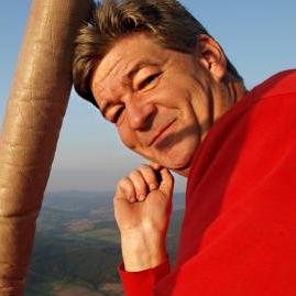 Ballonpilot Matthias Mattern